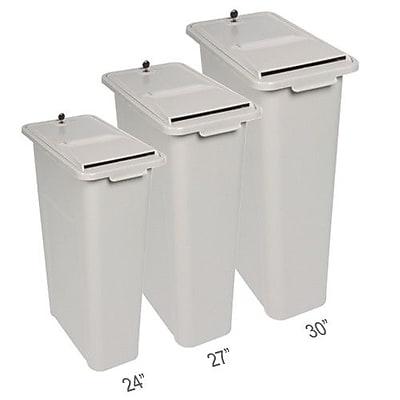 HSM of America Consumables HSM Shredinator 20 Gallon Trash Can; 27 H x 20 W x 11 D