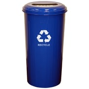 Witt Metal Recycling 20-Gal Industrial Recycling Bin; Blue