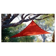 Coolaroo Triangle 10ft. Party Sail; Red