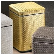 Gedy by Nameeks Marrakech 1.4 Gallon Step On Trash Can; Gold