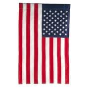 Evergreen Flag & Garden American 2-Sided Garden Flag; 44'' H x 28'' W