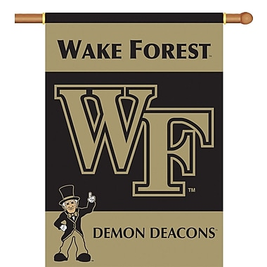 BSI Products NCAA 2-Sided Banner; Wake Forest