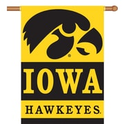 BSI Products NCAA 2-Sided Banner; Iowa