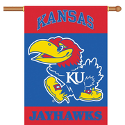 BSI Products NCAA 2-Sided Banner; Kansas