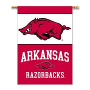 BSI Products NCAA 2-Sided Banner; Arkansas