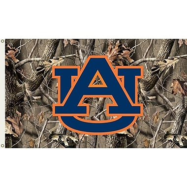 BSI Products NCAA Realtree Camo Traditional Flag; Auburn