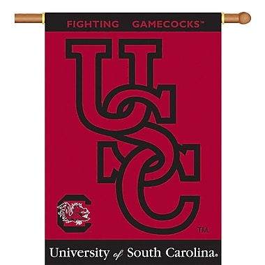 BSI Products NCAA 2-Sided Banner; South Carolina