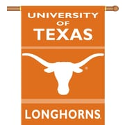 BSI Products NCAA 2-Sided Banner; Texas