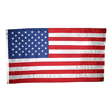 Annin Flagmakers Nyl-Glo United States Traditional Flag; 5' x 8'