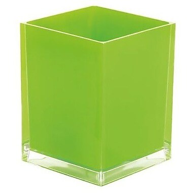 Gedy by Nameeks Rainbow 1.59 Gallon Waste Basket; Green