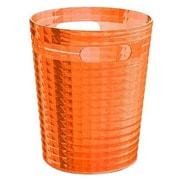 Gedy by Nameeks Glady 2.34 Gallon Resin Trash Can; Orange