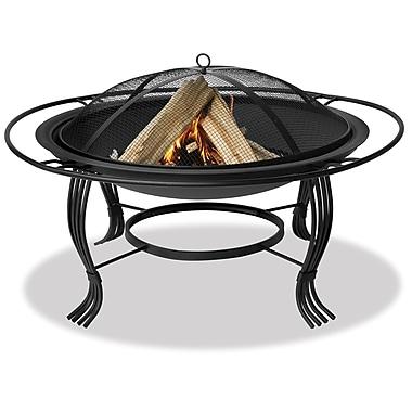 Uniflame Steel Wood Burning Fire pit