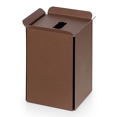WS Bath Collections Complements Bandoni 5 Gallon Trash Can; Rust