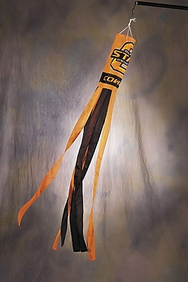 BSI Products NCAA Polyester Wind Sock; Oklahoma State