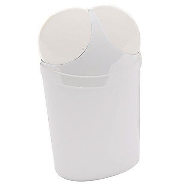 Gedy by Nameeks Cestini 3.12 Gallon Trash Can; White