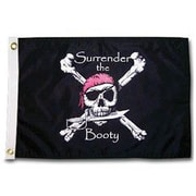 Taylor Made Products Pirate Heads 'Surrender the Booty' Traditional Flag