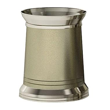 NU Steel Lighthouse 2.25 Gallon Waste Basket