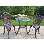 Oakland Living American Eagle 3 Piece Bistro Set