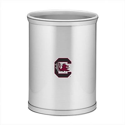 Kraftware Collegiate 3.25 Gallon Waste Basket; USoC