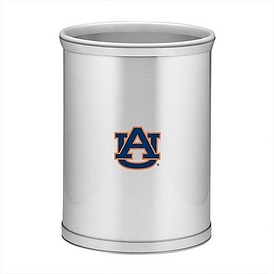 Kraftware Collegiate 3.25 Gallon Waste Basket; Auburn