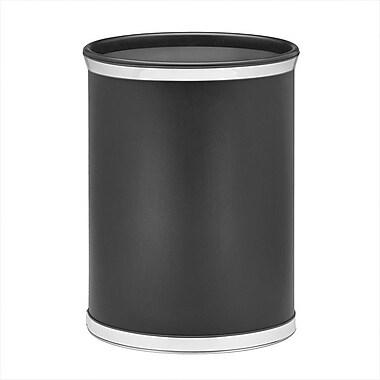 Kraftware Sophisticates 3.25 Gallon Waste Basket; Chrome