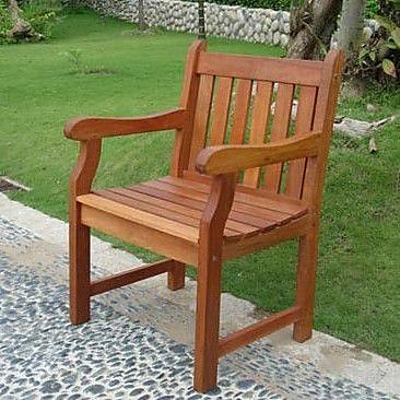 Vifah Henley Patio Dining Chair