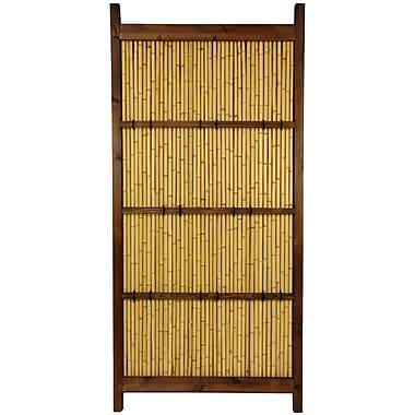 Oriental Furniture Japanese 6' x 3' Kumo Fence
