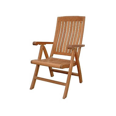 Anderson Teak Katana Recliner Dining Arm Chair