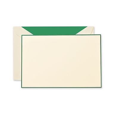 Crane & Co™ Lithographed Ecruwhite Correspondence Cards With Envelope