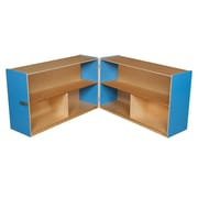"Wood Designs™ Storage 30""H Folding Versatile Storage, Blueberry"