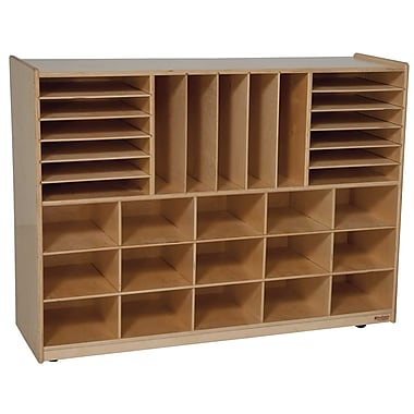 Wood Designs™ Multi-Storage Without Trays, Birch