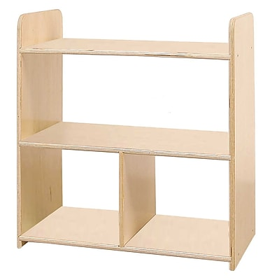 Wood Designs™ Tot-Size Pass Through Shelves, Birch