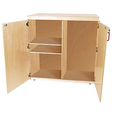 Wood Designs™ Teacher Resource Plywood Mobile Food Cart