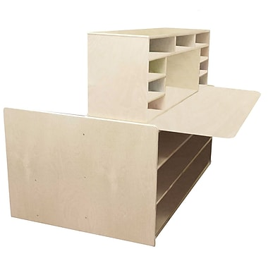 Wood Designs Read N Write 48'' Read & Writing Station, Small (WD31100)