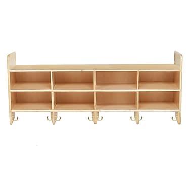 Wood Designs™ 8 Section Wall Locker, Birch