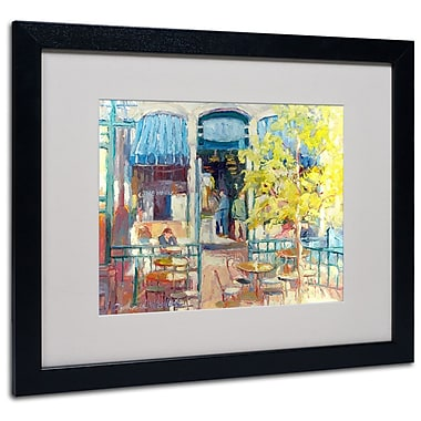 Trademark Fine Art Framed Art, Black