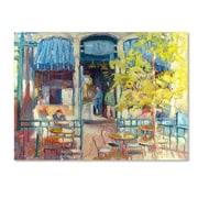 "Trademark Fine Art 35"" x 47"" Wooden Frame Gallery-Wrapped Canvas Art"