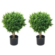 "Trademark Fine Art 24"" Plastic Artificial Plant"