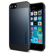 Spigen™ Slim Armor S Case For iPhone 5S/5, Metal Slate