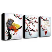 "Trademark Fine Art 14"" x 19"" Wood Gallery-Wrapped Canvas Art"