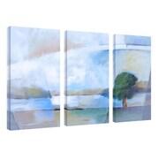 "Trademark Fine Art 16"" x 32"" Wooden Frame Gallery-Wrapped Canvas Art"