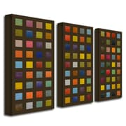 """Trademark Fine Art 12"""" x 24"""" Wood/Canvas Gallery-Wrapped Canvas Art"""