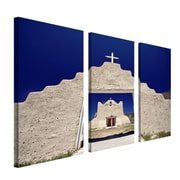 "Trademark Fine Art 12"" x 24"" Wooden Frame Gallery Wrapped Canvas Art"