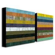 "Trademark Fine Art 24"" x 24"" Canvas/MDF Gallery-Wrapped Canvas Art"