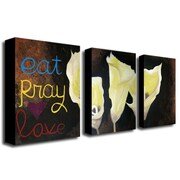 "Trademark Fine Art 14"" x 19"" Canvas/Wood Gallery Wrapped Art"