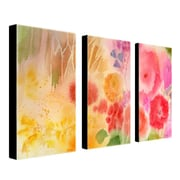 "Trademark Fine Art 16"" x 32"" Canvas & Wood Gallery Wrapped Art"