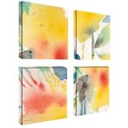 "Trademark Fine Art 18"" x 18"" Wooden Frame Gallery Wrapped Canvas Art"