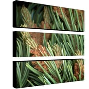 "Trademark Fine Art 32"" x 10"" Wooden Frame Canvas Wall Art"