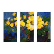 """Trademark Fine Art 14"""" x 32"""" Wooden Frame Canvas Art"""
