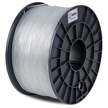 Flashforge™ BuMat™ 1.75 mm 2.2lbs. PLA Filament With Spool For FFF 3D Printer, Clear